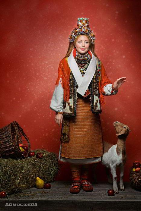 Тина Кароль, календарь 2019, Новый год, проект Щирі. Свята