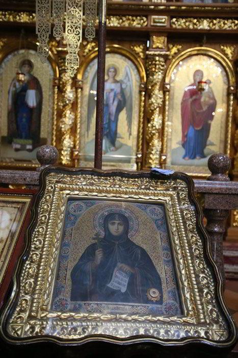 житомир, Икона священномученицы Анастасии Римляныни, тайны монастырей, Преображенский собор Житомира