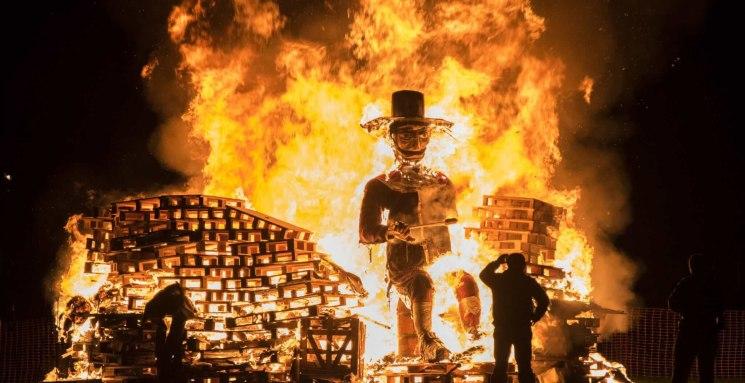 фишки дня - 5 ноября, день Гая Фокса, Ночь костров Англия