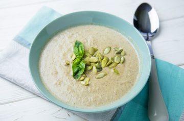 рецепт дня, крем-суп, грибы