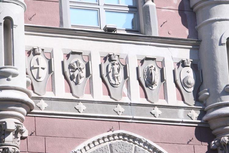 Нацбанк, фасад, Национальный банк Украины НБУ