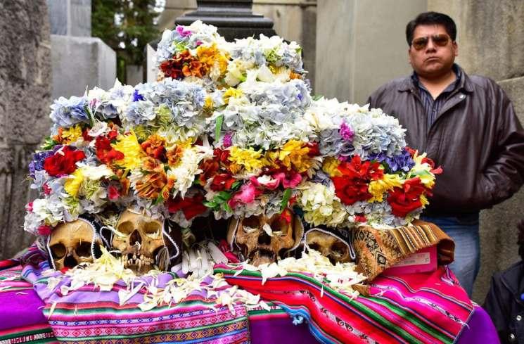 фишки дня - 9 ноября, день черепов в Боливии, Натитас