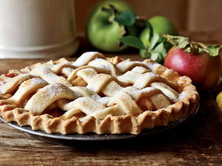 фишки дня - 3 декабря, день яблочного пирога, американский яблочный пирог