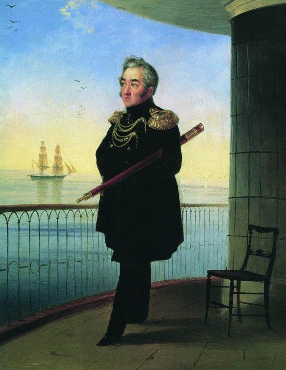 Лазарев, Михаил Лазарев, адмирал, изображение