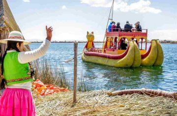 фишки дня, день Пуно, индейцы урос, озеро Титикака