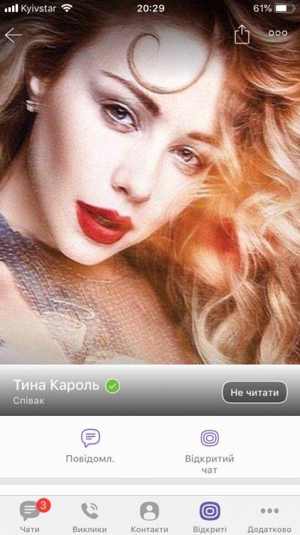 Тина Кароль, певица, Viber в Украине – ТОП-10 самых популярных сообществ