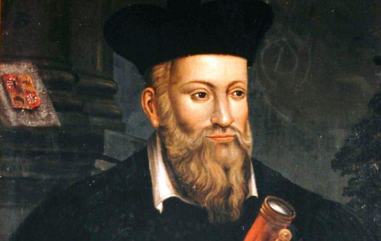 Нострадамус, биография, Пророчества , портрет