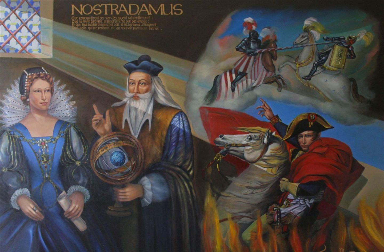 Нострадамус предсказал рай в 2040-м и научил Европу мыть руки