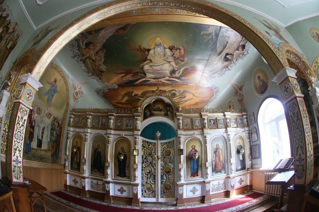 Анастасиевский монастырь, Иконостас храма прп Сергия Радонежского, святыни житомира, житомир, тайны монастырей,