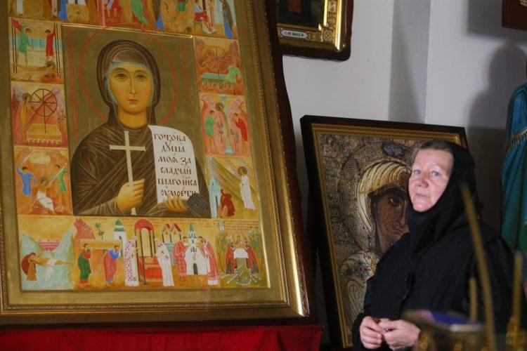 Анастасиевский монастырь, Икона святой мученицы Анастасии Римляныни