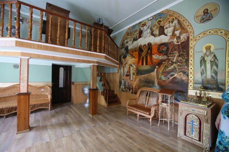 Анастасиевский монастырь, храм прп Сергия Радонежского, святыни житомира, житомир, тайны монастырей,