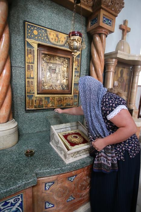 Николай Чудотворец, святой Николай в Палестине, Бейджала Святой Николай