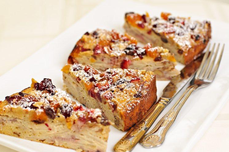 фишки дня - 27 декабря, фруктовый кекс, фруктовый пирог США