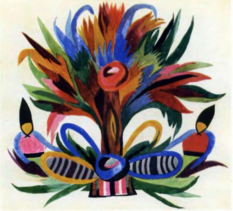 художница, Букет цветов, Анна Собачко-Шостак, живопись, Украина, картины,