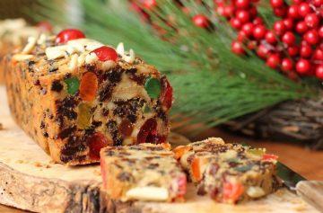 фишки дня, фруктовый кекс, рождественский кекс