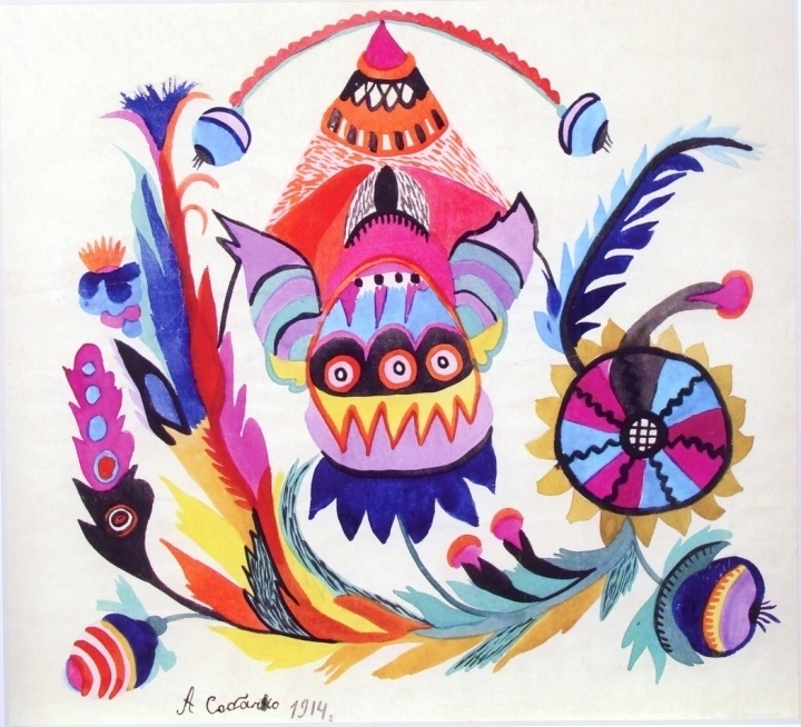 художница, Волшебный фонарик, Анна Собачко-Шостак, живопись, Украина, картины,
