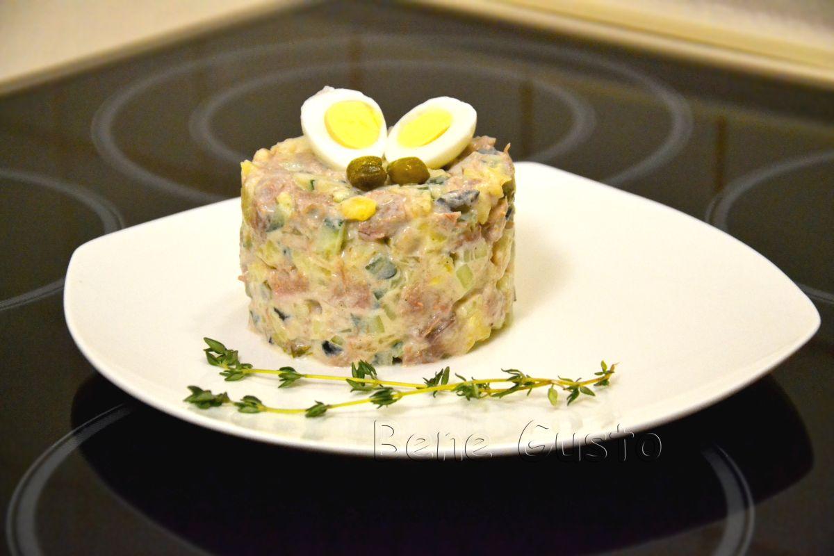 Рецепт дня — оливье по 100-летнему рецепту