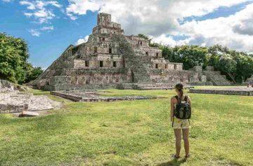 фишки дня, пирамиды майя Мексика