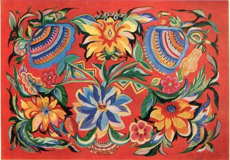 художница, Георгины, Анна Собачко-Шостак, живопись, Украина, картины,