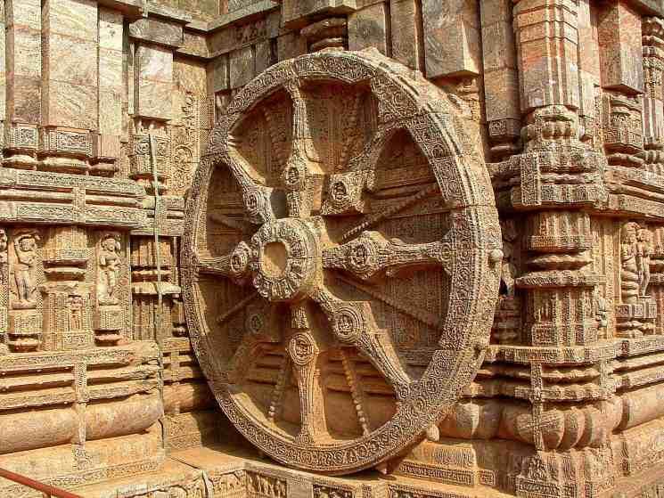 фишки дня - 8 декабря, День озарения Будды, колесо дхармы