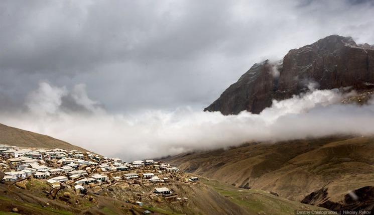 фишки дня - 11 декабря, день гор, селение Куруш Дагестан