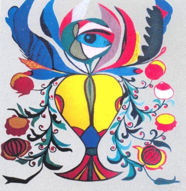 художница, Цветок-редька, Анна Собачко-Шостак, живопись, Украина, картины,
