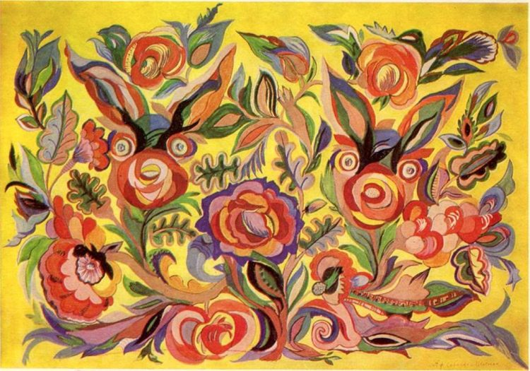 художница, Цветы розы, Анна Собачко-Шостак, живопись, Украина, картины,