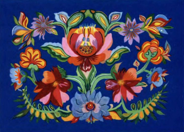 художница, Надднепрянские цветы 1964, Анна Собачко-Шостак, живопись, Украина, картины,