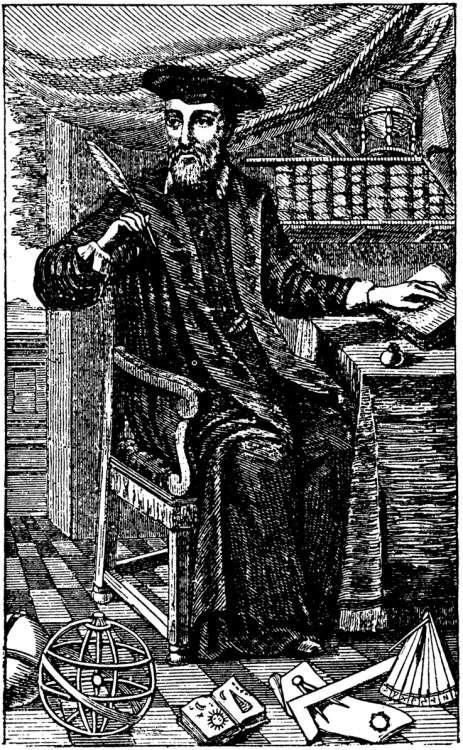 Нострадамус, биография, Пророчества, гравюра