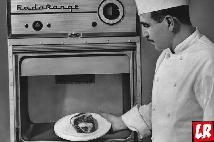 фишки дня - 6 декабря, первые микроволновки, изобретение СВЧ-печи
