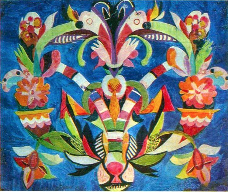 художница, Праздничный вечер, Анна Собачко-Шостак, живопись, Украина, картины,