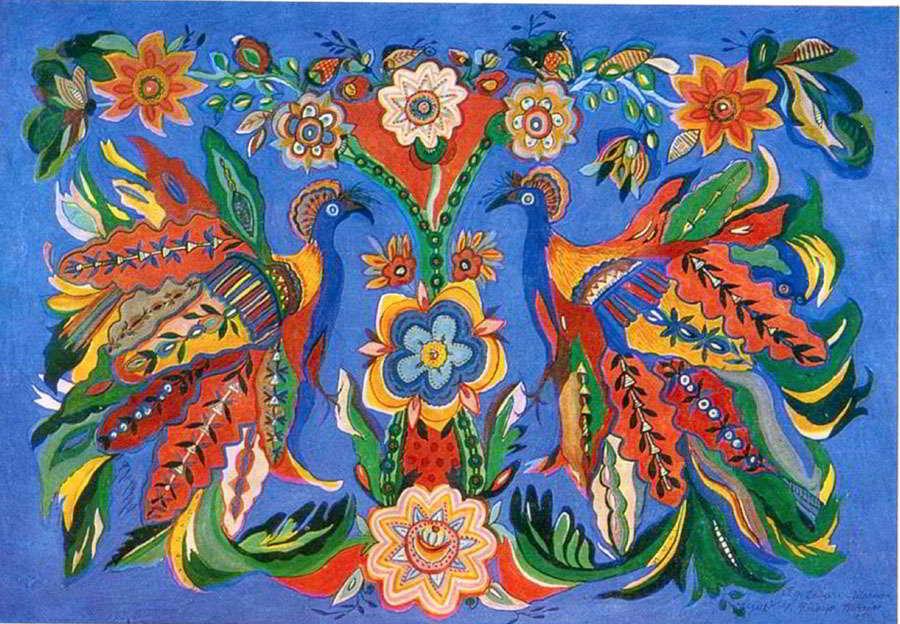Самая цветочная художница Украины