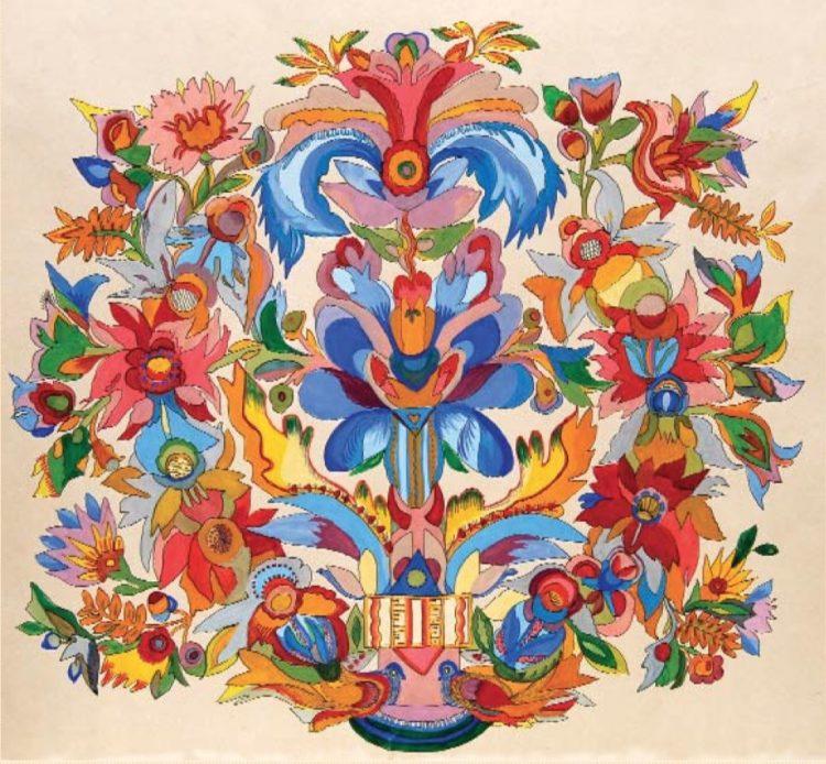 художница, Встреча в цветах, Анна Собачко-Шостак, живопись, Украина, картины,