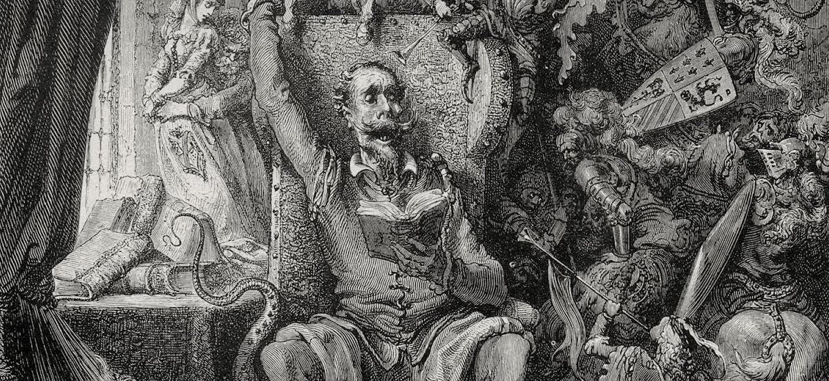Человек, который убил Дон Кихота, Терри Гиллиам, картина Гюстава Доре середины 19 века, Сервантес Дон Кихот