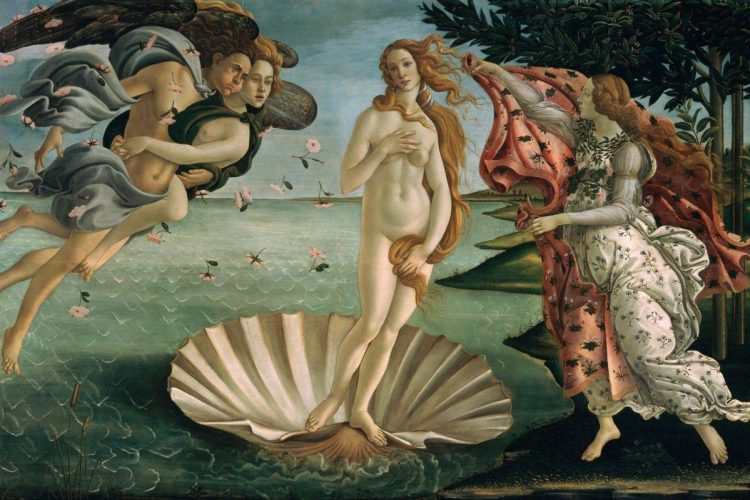 Картины человечества, рождение Венеры