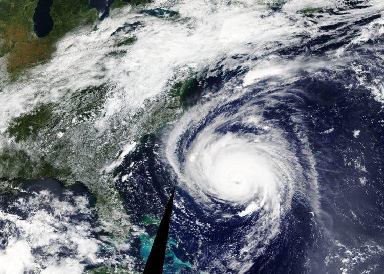 ФотоNASA, ураган, космос, флоренция, фото из космоса, земля