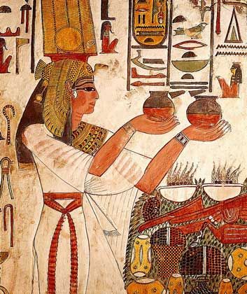 Картины человечества, Египет