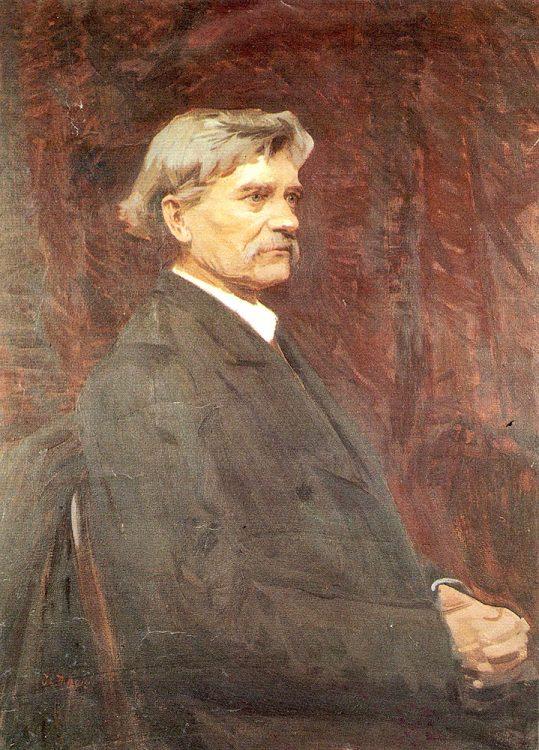 Антонович, портрет