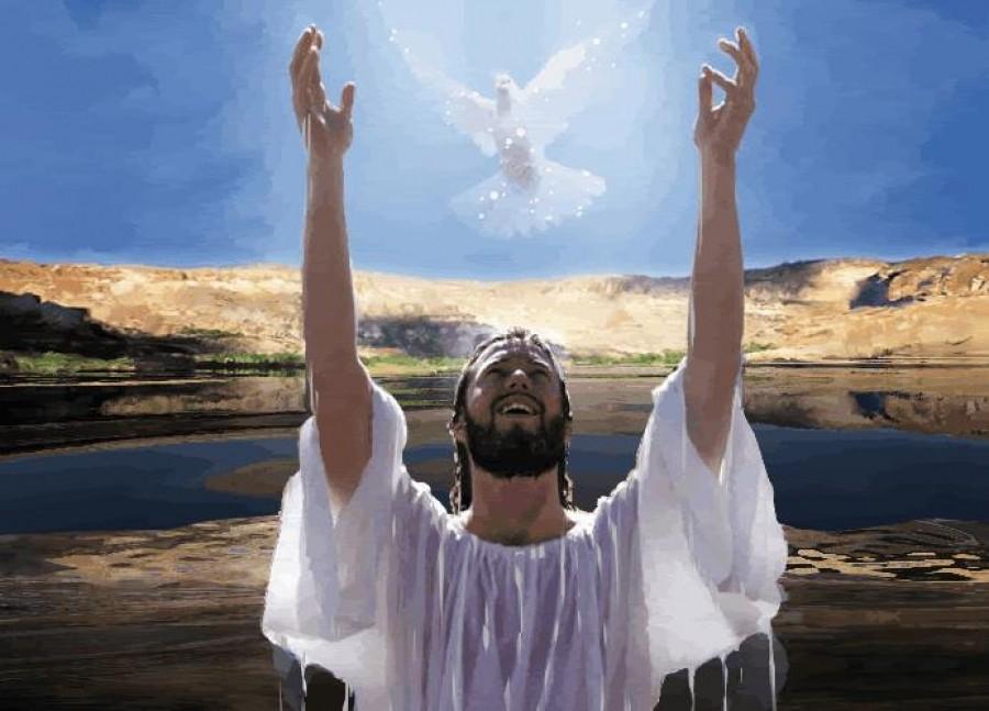 Крещение Господне, праздник Крещения Господнего, голубь, святой дух