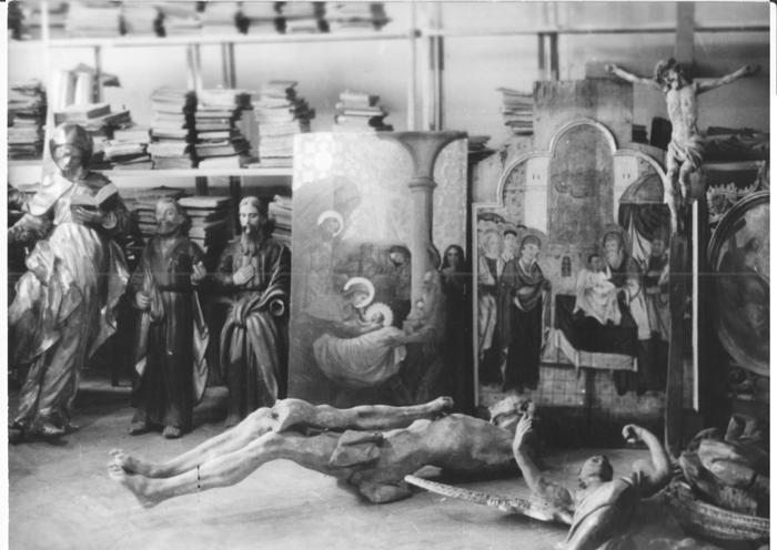 галицкие иконы, реставрация икон