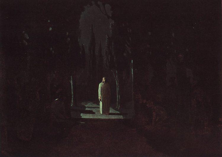 Куинджи, картины, Христос в Гефсиманском саду