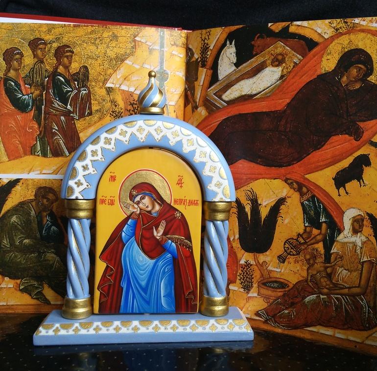 Молитвы о детях, икона рождества, икона непраздная