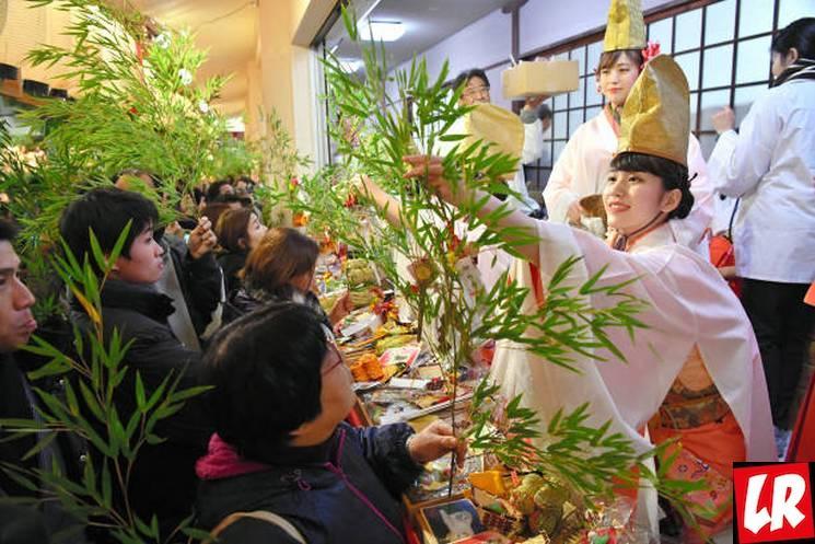 фишки дня - 9 января, фестиваль Эбису Току Япония