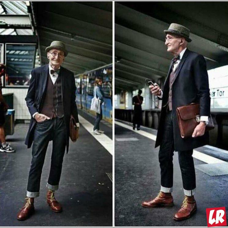 фишки дня - 22 января, самый модный дедушка, день дедушек
