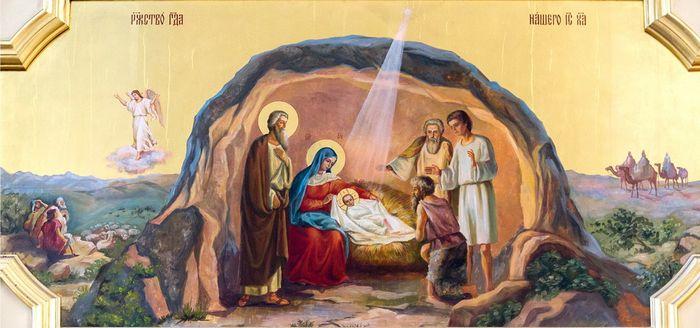 икона рождества, Рождество Христово