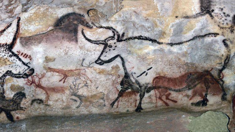 картины неандертальцев