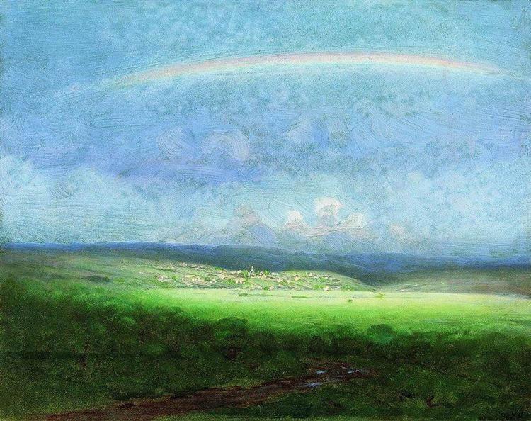 Куинджи, картины, После дождя