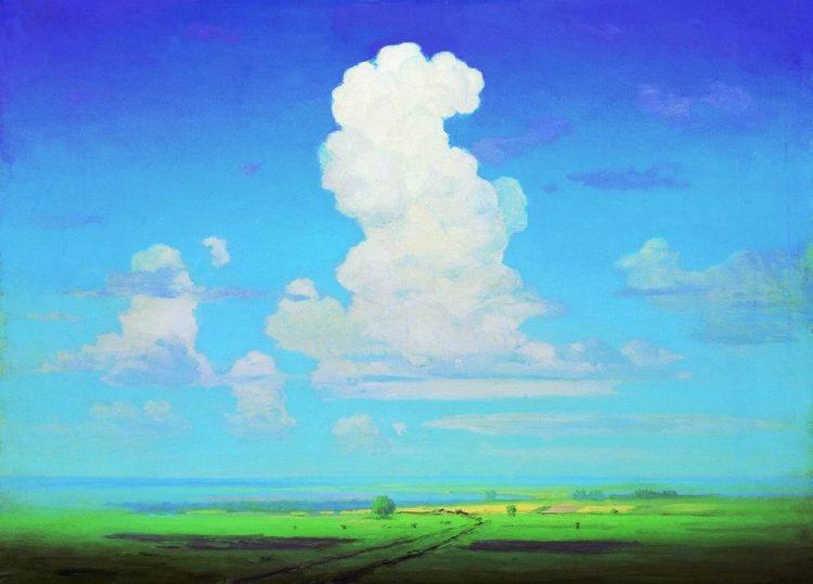 Куинджи, картины, Облако
