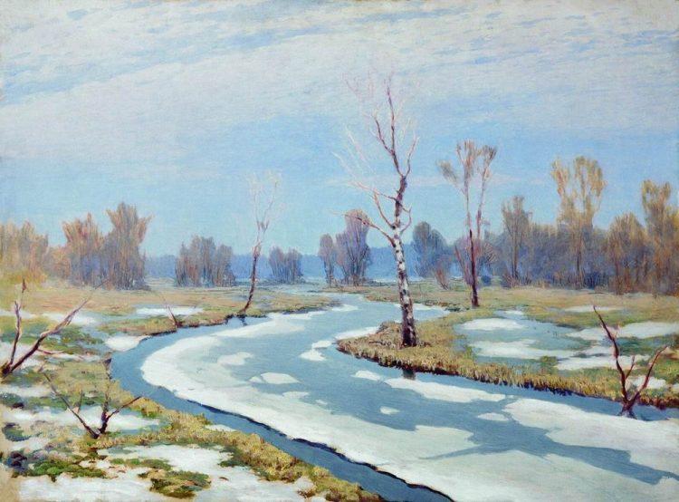 Куинджи, картины, Ранняя весна