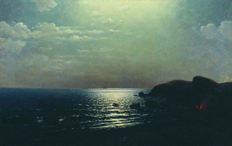 Куинджи, картины, Лов рыбы на Чёрном море
